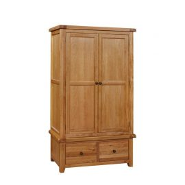 Oscar 2 Door x 2 drawer Wardrobe