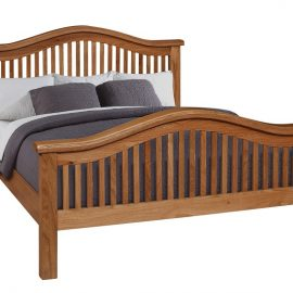 Oscar curved high end bedframe
