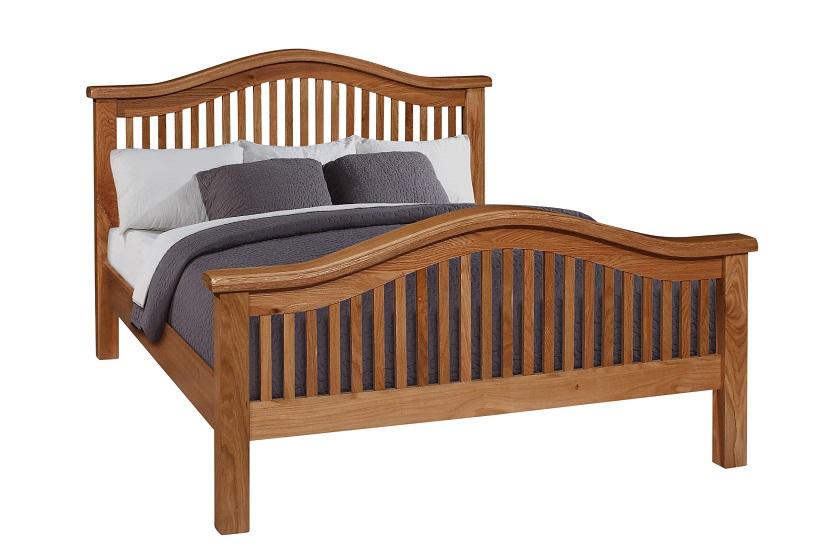Oscar curved high end bedframe