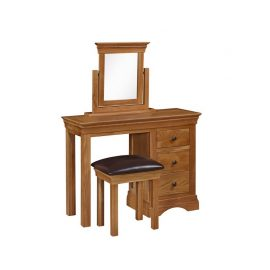 Delta dressing table set with stool and mirror