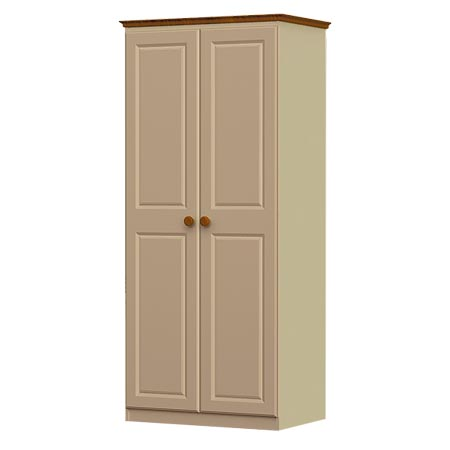 annagh-ivory-2 door all hang wardrobe