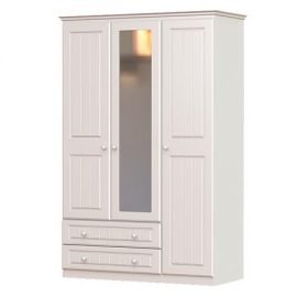 Grennan Wardrobe 3 Door & 2 Drawer with Mirror