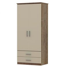 Iona 2 Door & 2 Drawer Wardrobe