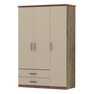 Iona 3 Door & 2 Drawer Wardrobe