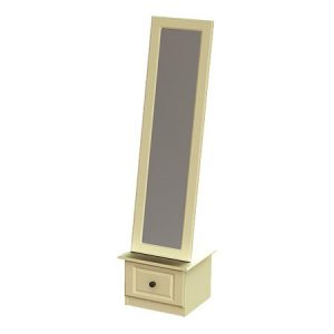 liffey cheval mirror with drawer