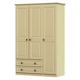 liffey triple wardrobe, 2 drawer