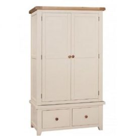 Juliet double wardrobe with drawers