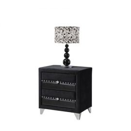 jasmine black 2 drawer locker
